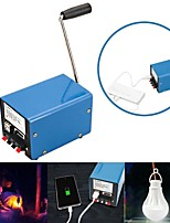 preiswerte -Outdoor 20 Watt Multifunktions tragbare Hand-Kurbel Ladegerät Notüberleben Stromversorgung