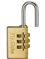 cheap -FQ-330 Padlock Copper for Drawer Gym & Sports Locker Cupboard Luggage