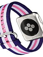 economico -Cinturino per orologio  per Apple Watch Series 3 / 2 / 1 Apple Cinturino sportivo Nylon Custodia con cinturino a strappo