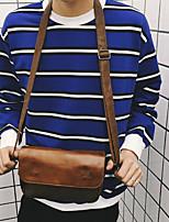 Недорогие -Муж. Мешки Полиуретан Сумка Молнии для Для шоппинга Повседневные Все сезоны Кофейный