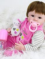 cheap -NPK DOLL Reborn Doll Baby 45cm Vinyl lifelike Cute Child Safe Parent-Child Interaction Simulation Lovely Non Toxic Children's Adults'