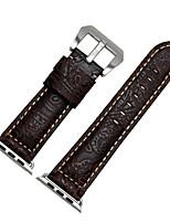 Недорогие -Ремешок для часов для Apple Watch Series 3 / 2 / 1 Apple Спортивный ремешок Натуральная кожа Повязка на запястье