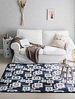 cheap -Creative Modern Area Rugs Flannelette, Superior Quality Rectangular Geometic Rug