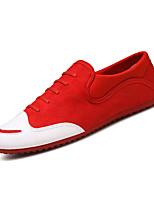 Недорогие -Муж. обувь Полиуретан Весна Осень Мокасины Мокасины и Свитер для Повседневные Черный Красный