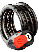 Недорогие -7717 велосипед замок горный велосипед замок электрический замок автомобиля стальной тросик замок с кабелем 115cm
