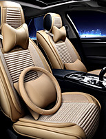 cheap -Car Seat Cushions Headrest & Waist Cushion Kits Textile Artificial Leather For universal All years All Models