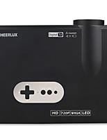 Недорогие -Factory OEM CL720D ЖК экран Проектор для домашних кинотеатров WXGA (1280x800)ProjectorsСветодиодная лампа 3000