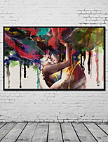 cheap -Rolled Canvas Prints One Panel Canvas Vertical Panoramic Print Wall Decor Home Decoration