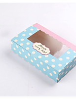 cheap -Cuboid Card Paper Favor Holder with Pattern / Print Favor Boxes - 1pc