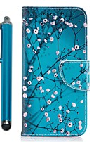 cheap -Case For Samsung Galaxy J7 (2017) J5 (2017) Card Holder Wallet with Stand Flip Magnetic Full Body Cases Flower Tree Hard PU Leather for