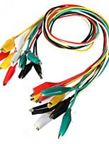 Недорогие -daniu 10шт 50см двухконтактный кабель для кабеля аллигатора