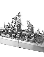 cheap -Piececool DIY USS Missouri 3D Metal Puzzle Assembly Model Puzzle Creative Toys