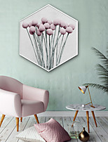 baratos -Botânico Floral/Botânico Ilustração Arte de Parede,Plástico Material com frame For Decoração para casa Arte Emoldurada Sala de Estar
