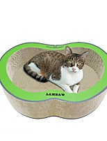 cheap -Cats Beds Scratch Art Paper & Papercrafting Pet Liners Solid Creative Trainer Relieves Stress Durable Red Green For Pets