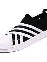 Недорогие -Муж. обувь Полиуретан Весна Осень Удобная обувь Кеды для Повседневные Черный Бежевый Серый