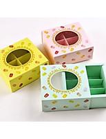 economico -Square Shape Cartone Porta-bomboniera con Bomboniere scatole - 1pc