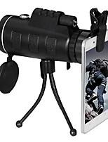 Недорогие -40x60 hd bak4 монокулярный оптический объектив с оптическим оптическим ночным видением с треногой на открытом воздухе