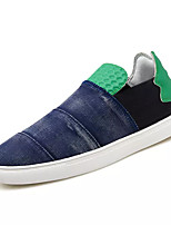 cheap -Men's Shoes Canvas Spring Fall Comfort Loafers & Slip-Ons for Casual Blue Red Black