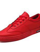 economico -Per uomo Scarpe PU (Poliuretano) Primavera Autunno Suole leggere Sneakers per Casual Bianco Nero Rosso