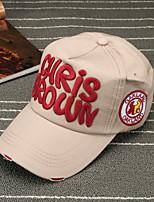 Недорогие -На каждый день Бейсболка Шляпа от солнца, Лето Хлопок Красный Розовый Желтый