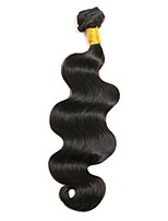 cheap -Peruvian Body Wave Human Hair Weaves 1 piece 0.1