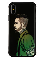 abordables -Coque Pour Apple iPhone X iPhone 8 Antichoc Motif Coque Bande dessinée Dur Verre Trempé pour iPhone X iPhone 8 Plus iPhone 8 iPhone 7