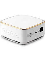 cheap -Factory OEM S3 DLP Mini Projector 50 lm Android 5.1 Support 1080P (1920x1080) 120 inch Screen