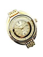 Недорогие -Жен. Повседневные часы Японский Кварцевый Серебристый металл / Золотистый / Розовое золото 30 m Повседневные часы Аналоговый На каждый день -