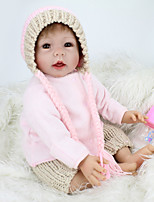 cheap -NPK DOLL Reborn Doll Baby 55cm Vinyl lifelike Cute Child Safe Parent-Child Interaction Simulation Lovely Non Toxic Children's Adults'