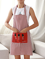cheap -High Quality 1pc Linen/Cotton Blend Apron, 86*59