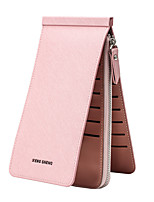 cheap -Women's Bags PU Wallet Tiered for Casual All Seasons Blue Black Red Blushing Pink Purple