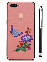 cheap -Case For Vivo vivo X20 Plus vivo X20 Pattern Back Cover Scenery Flower Soft TPU for Vivo X20 Plus Vivo X20