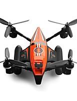 economico -RC Drone GW353 4 canali 6 Asse Quadricottero Rc Avanti indietro Illuminazione LED Tasto Unico Di Ritorno Controllo Di Orientamento