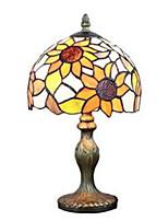 Недорогие -металлический Декоративная Настольная лампа Назначение Спальня Металл 220 Вольт Оранжевый
