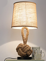 cheap -Modern/Contemporary Decorative Table Lamp For Bedroom Hemp Rope 220V