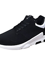 cheap -Men's Shoes Fabric Spring Fall Light Soles Sneakers for Casual Black Black/White Black/Red Black/Green