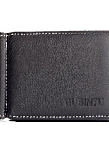 cheap -Men's Bags PU Wallet Tiered for Casual All Seasons Black Coffee