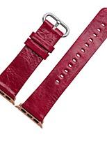 abordables -Bracelet de Montre  pour Apple Watch Series 3 / 2 / 1 Apple Boucle Moderne Vrai Cuir Sangle de Poignet