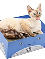 cheap -Cats Cat Beds Scratch Art Paper & Papercrafting Pet Baskets Solid Trainer Relieves Stress Folding Dark Blue Purple Yellow For Pets
