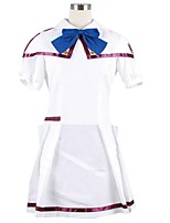 cheap -Inspired by Macross Frontier Cosplay Anime Cosplay Costumes Cosplay Suits Other Short Sleeves Cravat Top Skirt More Accessories For Men's