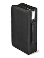 economico -Organizer porta-oggetti per Tinta unica Stoffe 96 Capacity CD DVD Case