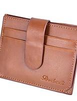 Недорогие -Муж. Мешки PU Бумажники Несколько слоев для Для шоппинга Черный / Коричневый / Темно-коричневый