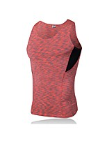 cheap -Men's Running Tank Sleeveless Breathability Tank for Exercise & Fitness Polyester Black Red Green Blue Grey M L XL XXL XXXL