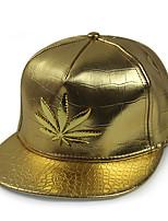 Недорогие -Универсальные Для вечеринки На каждый день Шляпа от солнца Бейсболка Полиуретановая, Однотонный