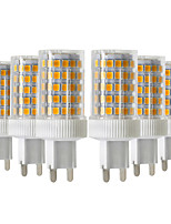 cheap -YWXLIGHT® 6pcs 10W 900-1000 lm G9 LED Bi-pin Lights T 86 leds SMD 2835 Dimmable Warm White Cold White Natural White 220-240V