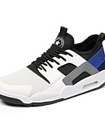cheap -Men's Shoes Tulle Spring Summer Comfort Sneakers for Casual Outdoor White Black Gray