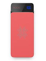 abordables -8000mAh banque de puissance de batterie externe 5 Chargeur de batterie QC 2.0 Chargeur Sans Fil LCD