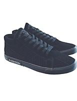 abordables -Homme Chaussures Daim Hiver Automne Confort Basket pour Décontracté Noir Gris
