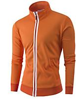 cheap -Men's Sweatshirt - Solid Stand
