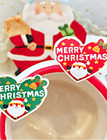 cheap -Holiday Stickers, Labels & Tags - 16 Christmas Irregular Stickers All Seasons